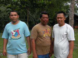 From left: LOLOY, TANOY & JAN-JAN